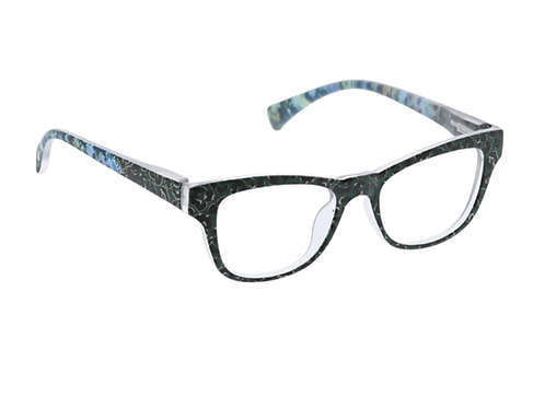 Peepers - Orchid Island Green/Leopard Floral +0.00