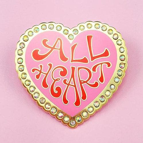 Little Arrow - All Heart Pin