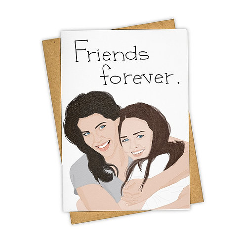 Tay Ham Card - Friends Forever