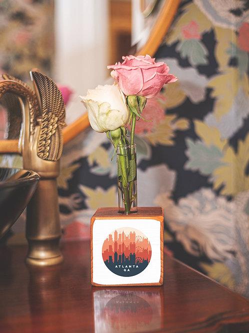 Get ARCH'd - Atlanta Retro Skyline Bud Vase