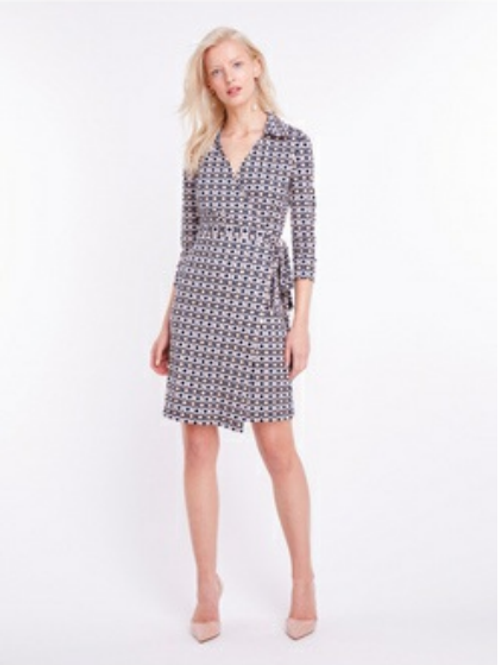 Misstery - The Baldwin Graphic Print Wrap Dress