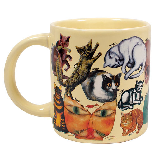 Unemployed Philosophers - The Artistic Cat Mug