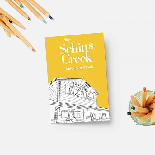 Party Mountain Paper - Schitt's Creek Coloring Book