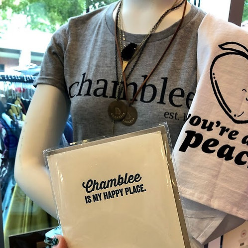 Chamblee T-Shirts (Crew or V-Neck)