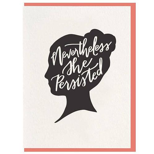 Dahlia Press - She Persisted Card