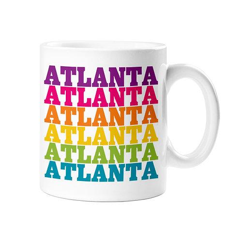 Rock Scissor Paper - Atlanta Rainbow Mug