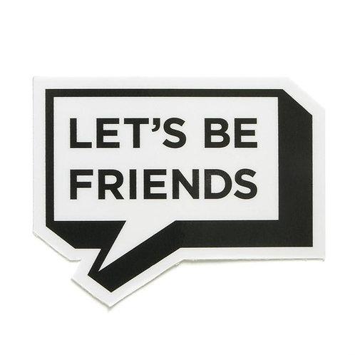Smarty Pants Co. - Let's Be Friends Sticker