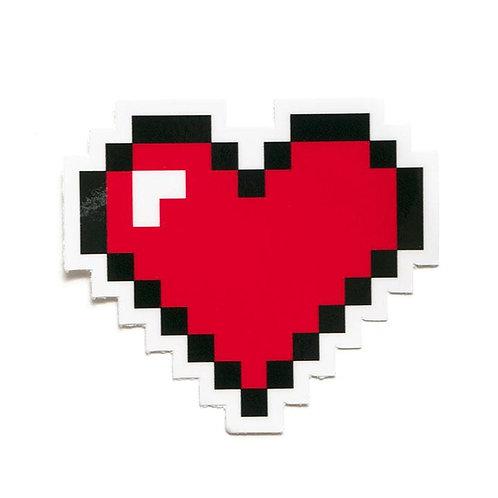 Smarty Pants Co. - 8 Bit Heart Sticker
