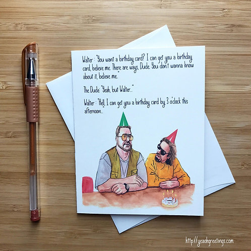 Yeaoh Greetings - You Want A Birthday Card?