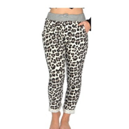 Catherine Lillywhite - Leopard Joggers (fits size 0-12)