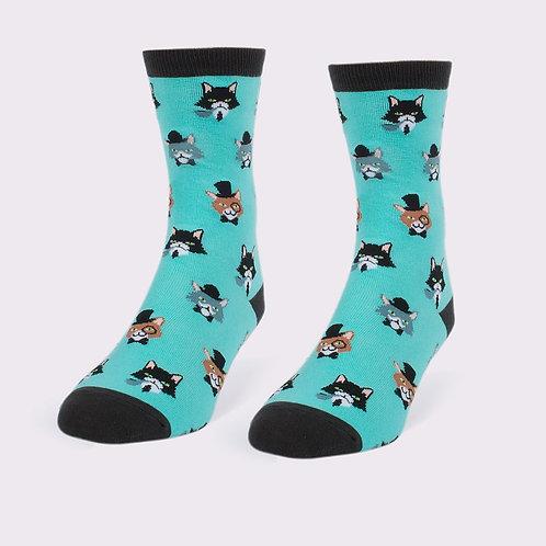 Headline - Women's Fancy Cats Socks