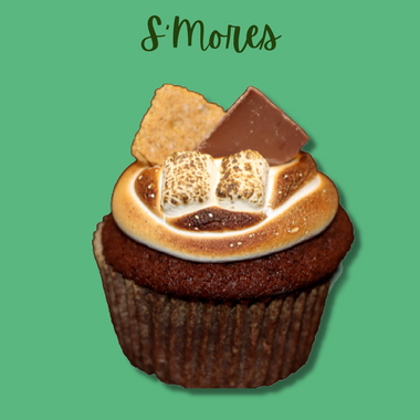 GF S'mores Cupcake