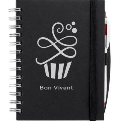 Bon Vivant notebook with calendar