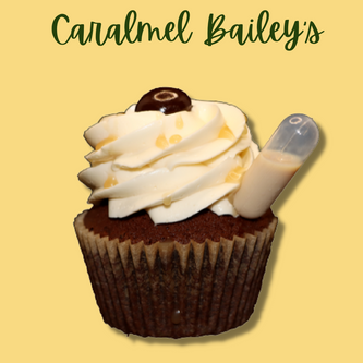 Caramel Bailey's Cupcake