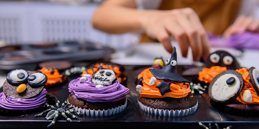 Kids Halloween Cupcake Decorating Class & Contest