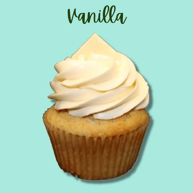 GF Vanilla Cupcake