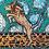 Thumbnail: Pintura em papel de LEÃO - Leão de ruínas 2 (O salto)