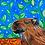 Thumbnail: Pintura em papel de CAPIVARA - Curitibana