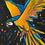 Thumbnail: Pintura em papel de ARARA - Canindé fugindo das chamas