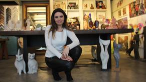 Galerista orienta artistas como viver de arte
