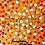 Thumbnail: Pintura em tela ABSTRATO - Pontos sobre dourado