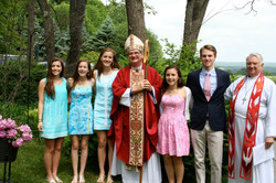 Our 2nd confirmation class in 2015!