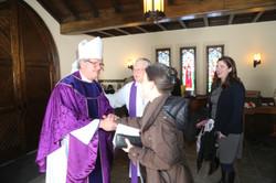 Feb 2015:Bishop Stokes visits SBC