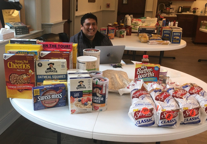 Food collection for spring break in PH w