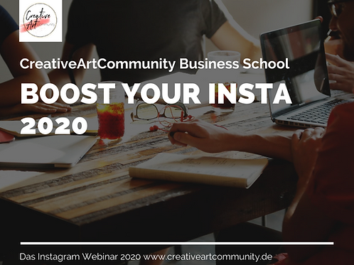 Boost your Insta 2020