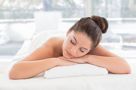 Holistic relaxing massage
