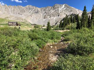 Snowmelt in the Colorado Rockies