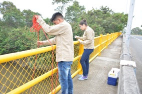 Sample Collection in Colombia