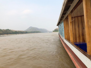 Along the Mekong River in Laos