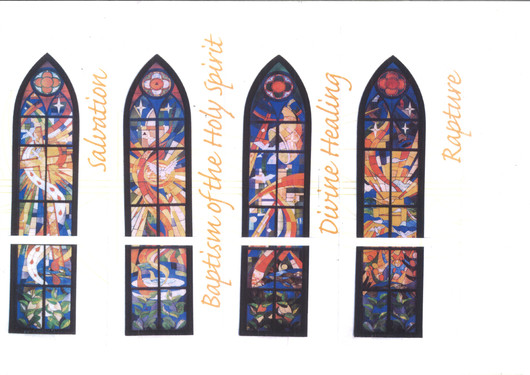 Stained Glass Windows for Trinity Christian Centre