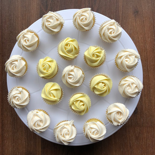 Yellow & White Mini Roses