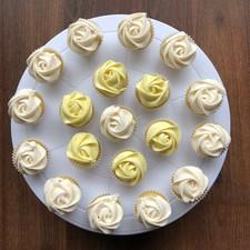 Yellow & White Mini Roses