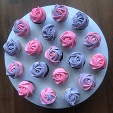 Pink, Purple & Swirl Mini Roses