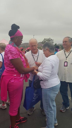 Prayer @ Race for the Cure
