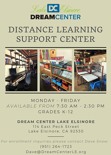 Dream Center Distance Learning Support C
