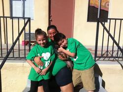 Michele & her kids