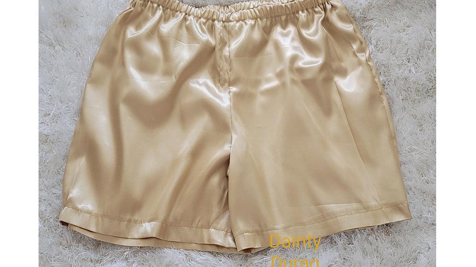 Men's Satin PJ Shorts