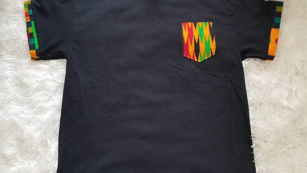 Men's African Print T Shirt