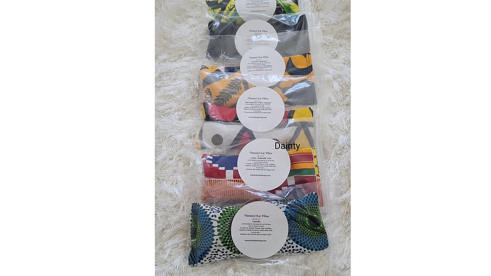 Flaxseed Eye Pillows by Danity
