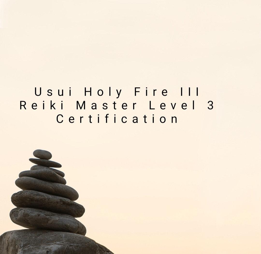 Usui Holy Fire III Master Level 3