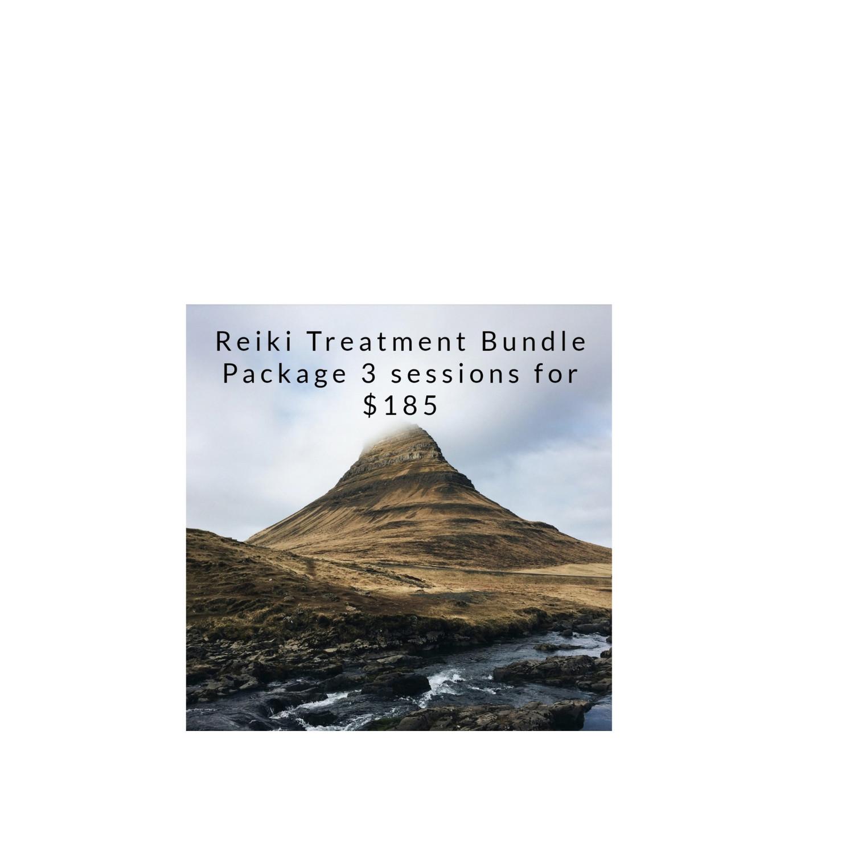 Reiki Treatment Bundle (3 sessions)