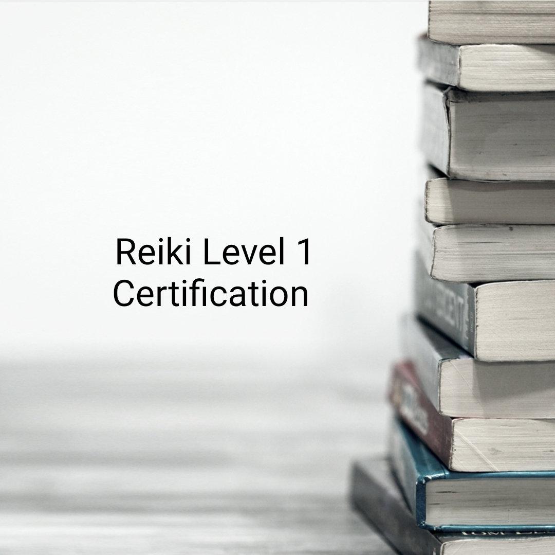 Usui Reiki Level 1 Certification