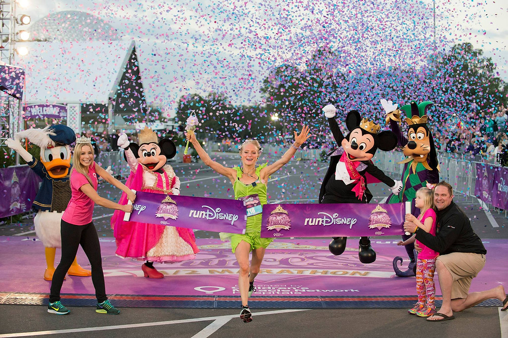 runDisney princesas