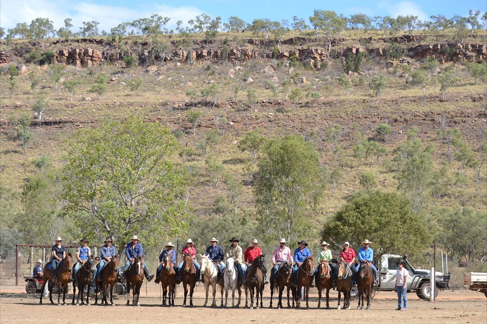 Ian Francis Horsemanship Clinic at Macarthur River NT in 2012