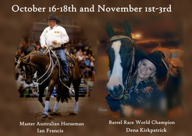 Horsemanship Clinic with Ian Francis and Dena Kirkpatrick
