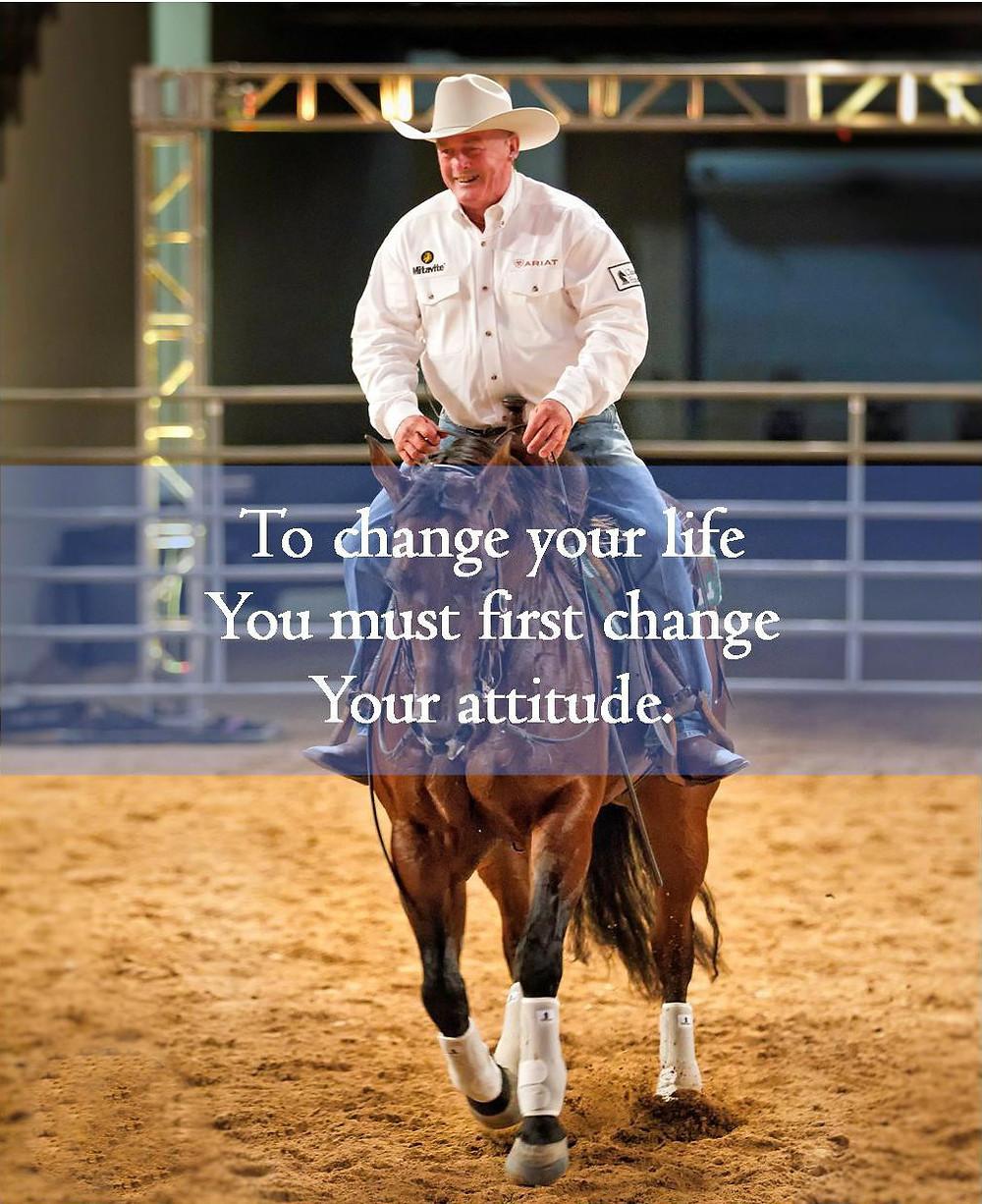 Ian Francis Horsemanship Attitude, Ian Francis at Las Vegas